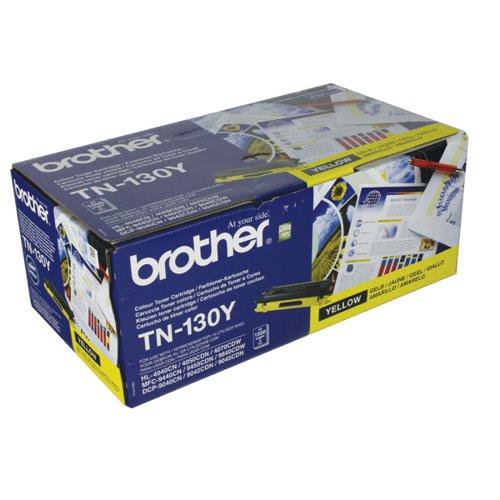 Brother TN-130Y / TN130Y Yellow Toner