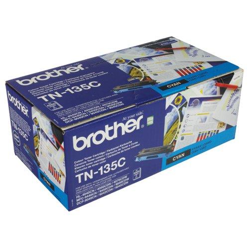 Brother TN- 135C / TN135C Cyan Toner