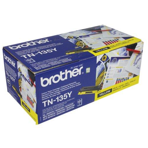 Brother TN-135Y / TN135Y Yellow Toner