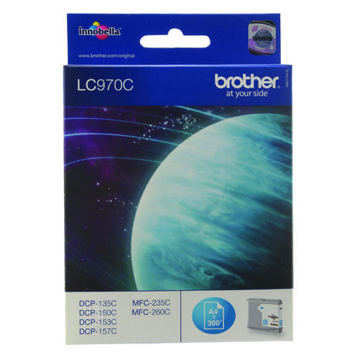 Brother LC970C Cyan Ink Cart LC-970C