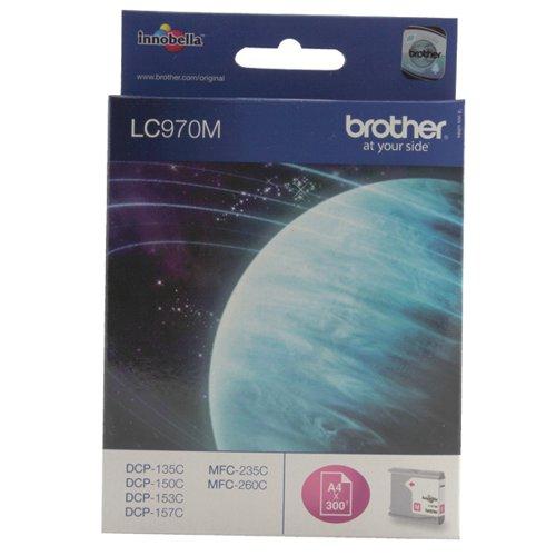 Brother Magenta LC970M Inkjet Cartridge