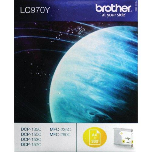 Brother LC970Y Yellow Inkjet Cartridge