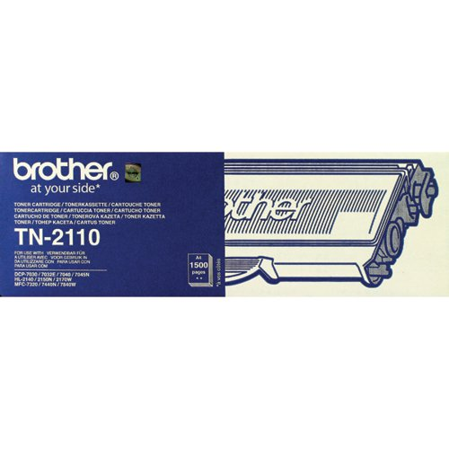Brother TN-2110 / TN2110 Black Toner