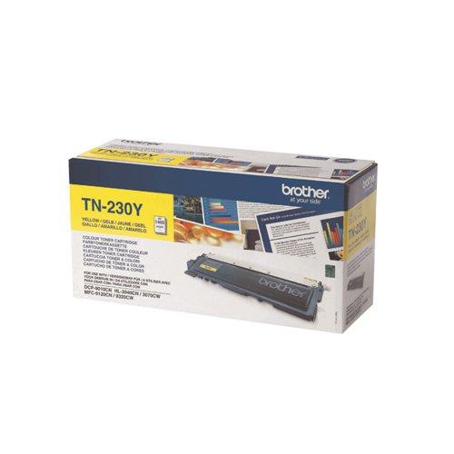 Brother TN-230Y / TN230Y Yellow Toner