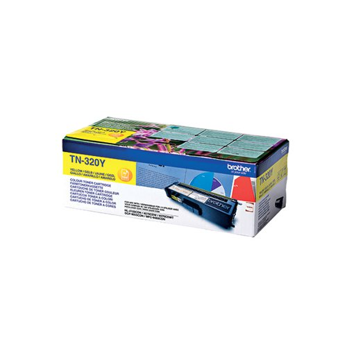 Brother TN-320Y / TN320Y Yellow Toner