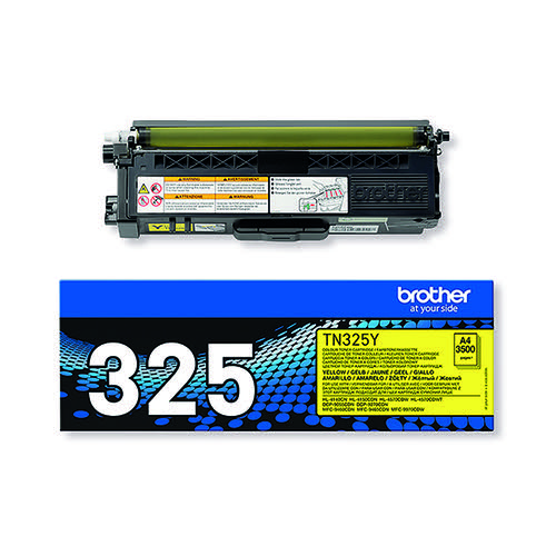 Brother TN-325Y / TN325Y Yellow Toner