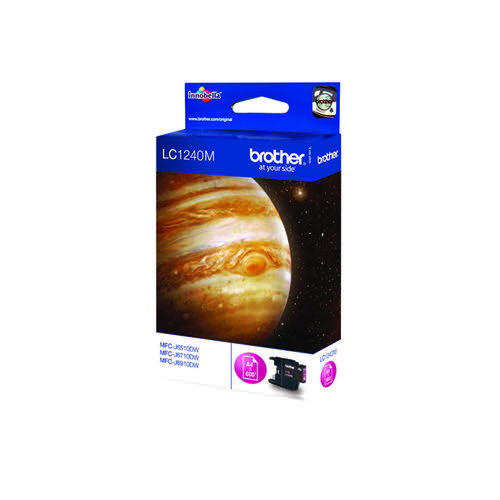 Brother Magenta LC1240M Inkjet Cartridge