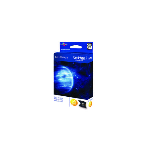 Brother Yellow LC1280XLY Ink Cartridge