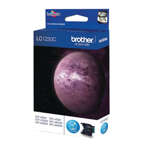 Brother LC1220C Cyan Ink Cart LC-1220C