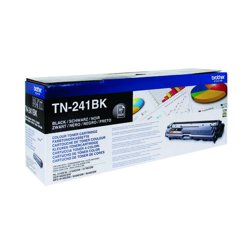 Brother TN-241BK Black Laser Toner Cartridge TN241BK