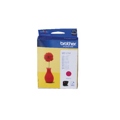 Brother Magenta LC121M Inkjet Cartridge
