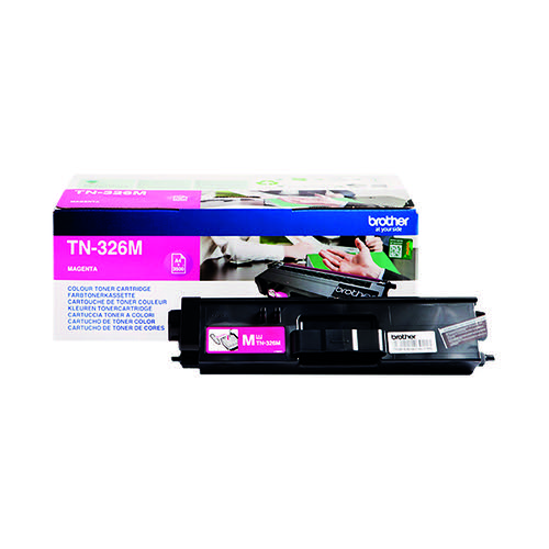 Brother Magenta Toner Cartridge High Capacity TN-326M