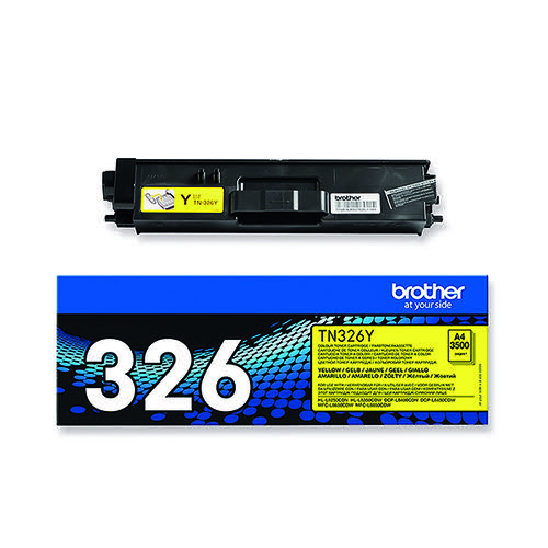 Brother Yellow Toner Cartridge High Capacity TN-326Y