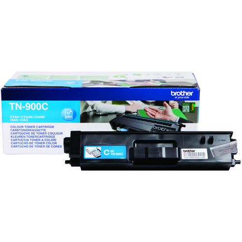 Brother TN-900 Cyan Super Toner Cartridge High Capacity TN900C