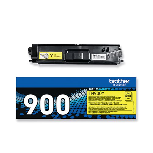 Brother TN-900 Yellow Super Toner Cartridge High Capacity TN900Y