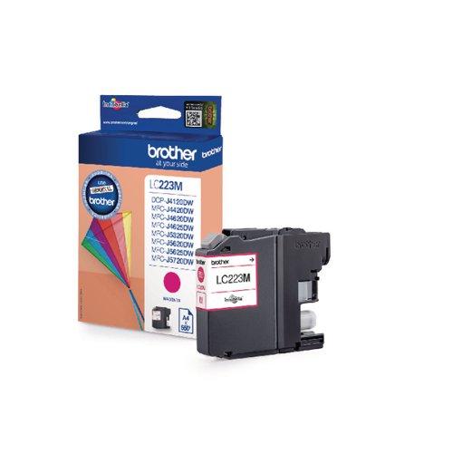 Brother Magenta LC223M Inkjet Cartridge