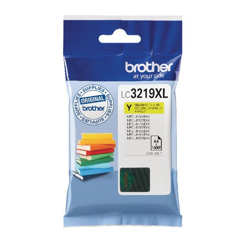 Brother Yellow LC3219XLY Ink Cartridge