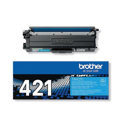 Brother TN-421 Cyan Toner Cartridge TN421C