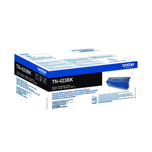Brother TN423BK Black High Yield Toner Cartridge TN423BK