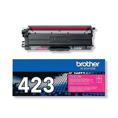 Brother TN423M Magenta High Yield Toner Cartridge TN423M