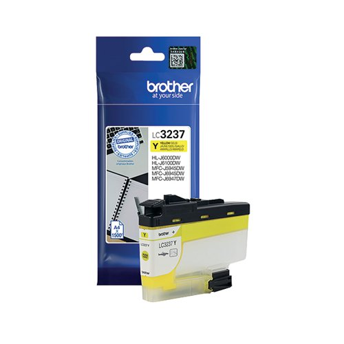 Brother LC-3237 Yellow Ink Cartridge LC3237Y