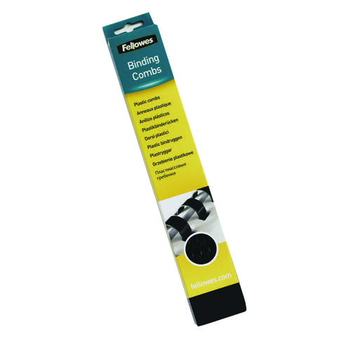 Fellowes A4 Binding Combs 51mm Black (Pack of 50) 53505