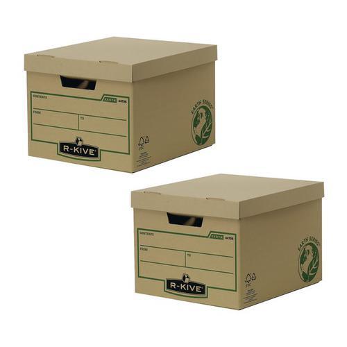 Bankers Box Brown R-Kive Earth Storage Box (Pack of 10)  BOGOF