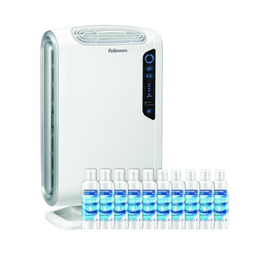 Fellowes Aeramax DB55 Air Purifier FOC 10 Hand Gel