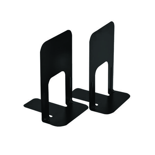 Large Deluxe Bookends Black (Pack of 2) BLO06914