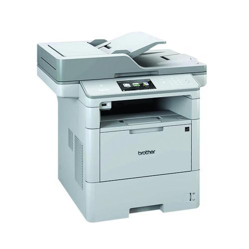 Brother Mono DCP-L6600DW Grey Multifunction Laser Printer DCP-L6600DW