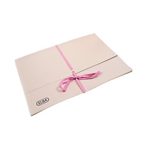 Elba Legal Wallet 100mm Foolscap Buff (Pack of 25) 100080793