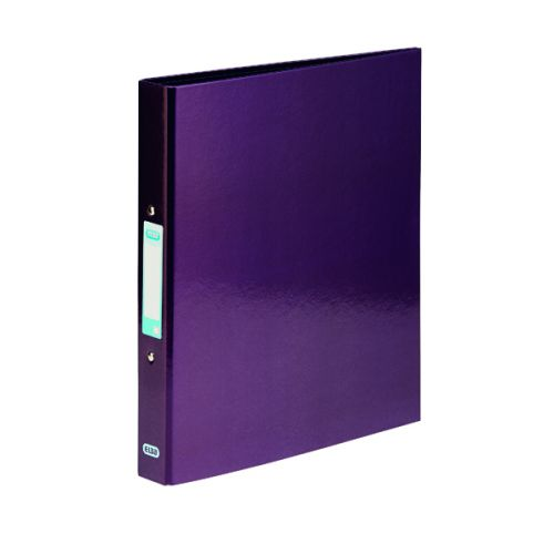Elba Classy Ringbinder A4 Met Purple 3FOR2 (Pack 2 + 1) BX810421