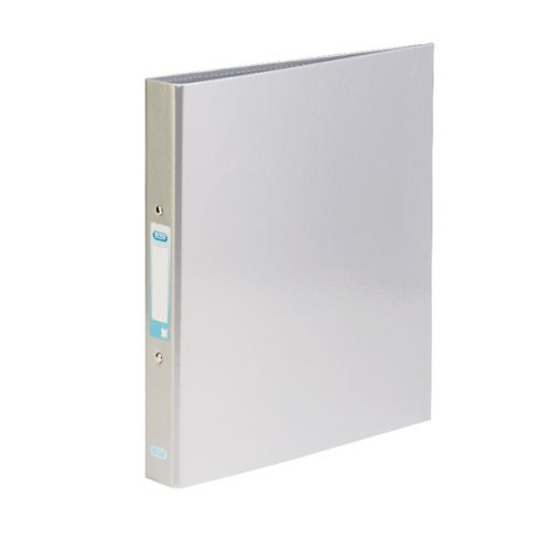 Elba Classy Ringbinder A4 Met Silver 3FOR2 (Pack of 2 + 1) BX810422