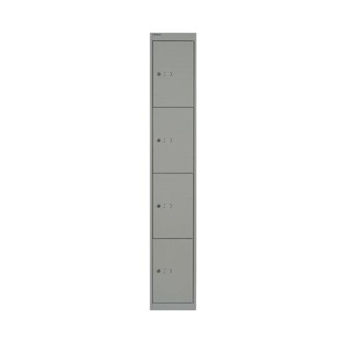FF Bisley 4Dr Locker D457mm Goose Grey