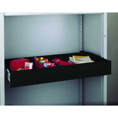Bisley Rollout Drawer 4in Black