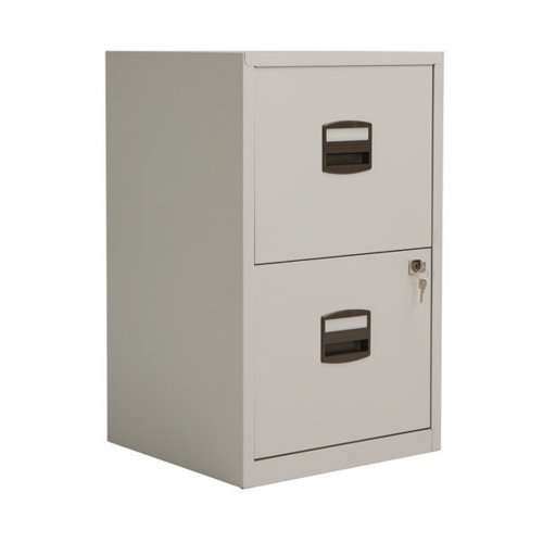 BISLEY LOCKABLE A4 PERS 2 DRAWER FILING