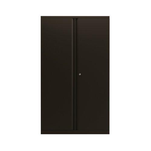 Bisley 2 Door 1570mm Cupboard Empty Black KF78714