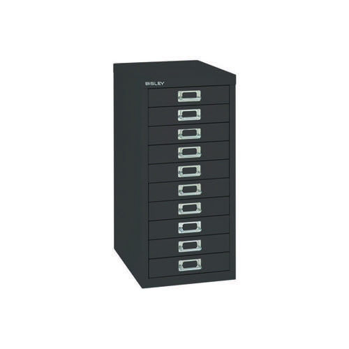 Bisley 10 Drawer Cabinet Black BY99639