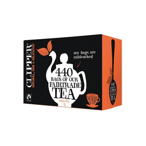 Clipper Fairtrade Everyday Tea Bag Pk440
