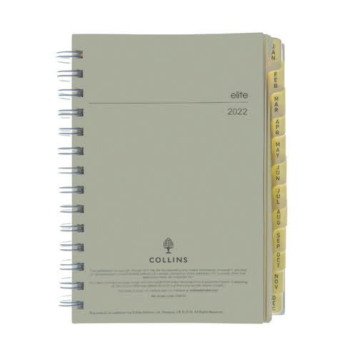 Collins Elite Compact Day Per Page Refill 2022 1140R
