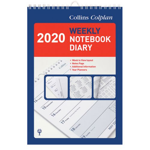 Collins Weekly Notebook Diary 2020 60