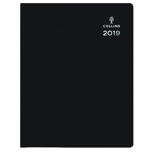 Collins Leadership Diary A4 Day Per Page 4 Person Appointment 2019 Black CP6742