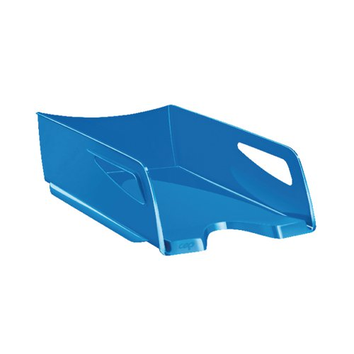 CEP Maxi Gloss Letter Tray Blue 1002200351