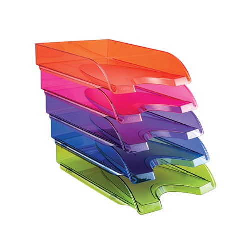 Happy by CEP Letter Tray Multicoloured (Pack of 5) 200+*5 Happy