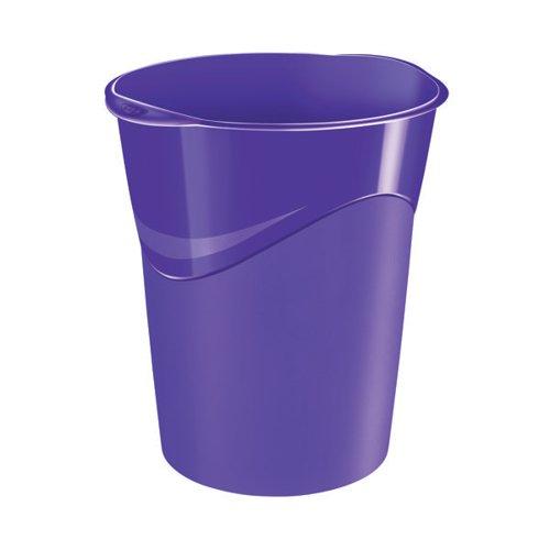 CEP Pro Gloss Waste Bin Purple 280G PURPLE