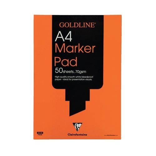 Goldline Marker A4 Pad (50 sheets) 70gsm GPB1A4