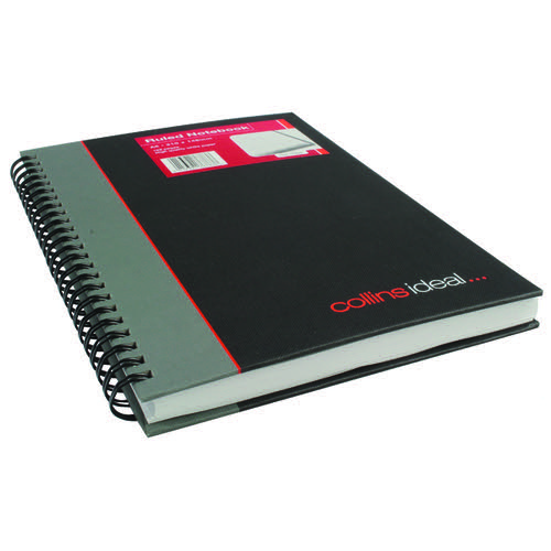 Collins Ideal Wirebound Notebook A5 Ruled Feint 192 Pages 468W