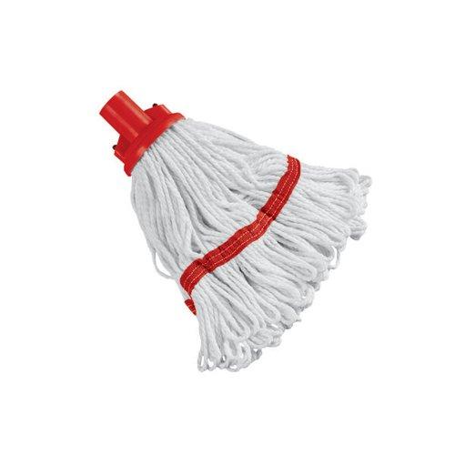 Image for 180g Hygiene Socket Mop Head Red 103061RD