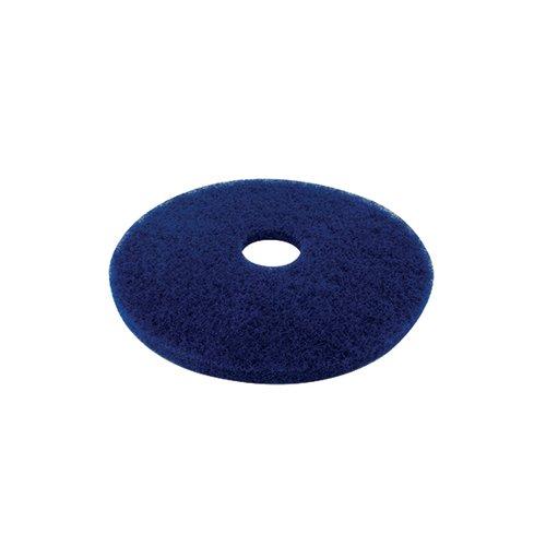 3M Cleaning Floor Pad 430mm Blue (Pack of 5) 2ndBU17