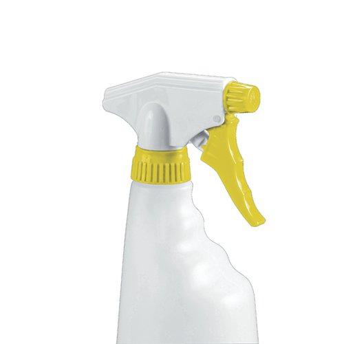 2Work Yllw Trigger Spray Bottles Pk4